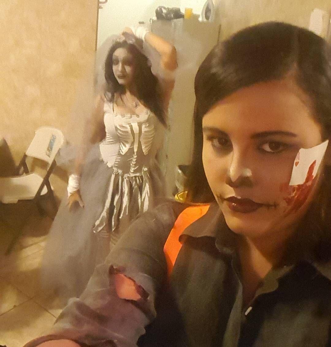 Halloween 2017 casino dealer waitress royalcaribeam work