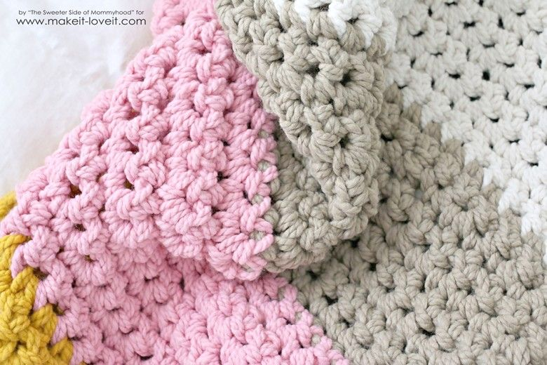 How To Crochet A Chunky Blanket Affordable Beginner Project
