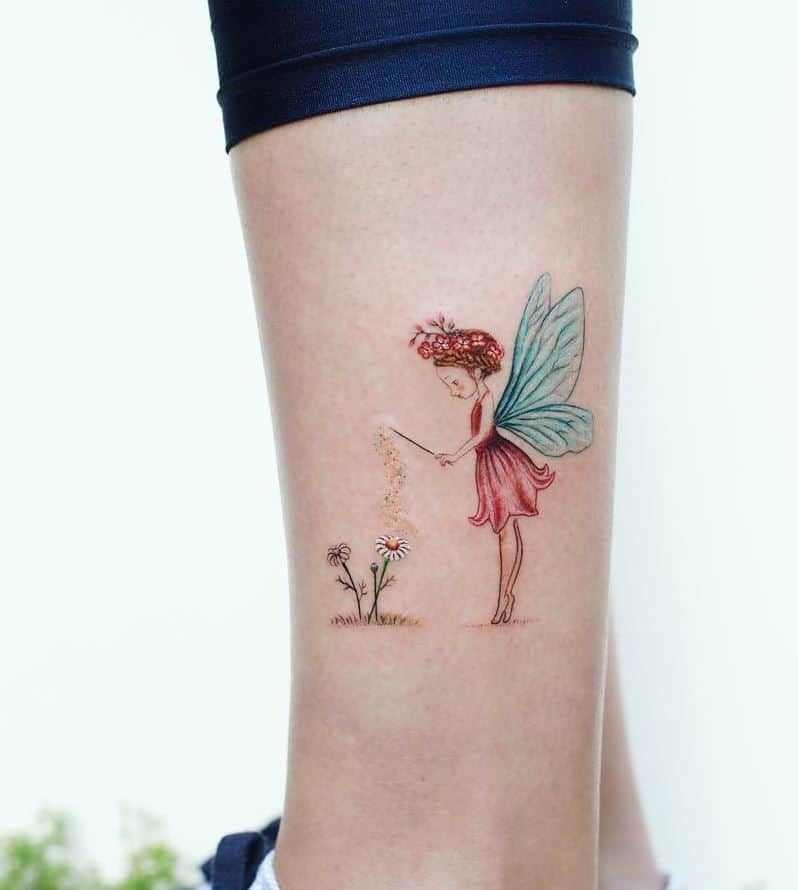 Top 101 Best Fairy Tattoos [2020 Inspiration Guide