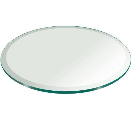 round glass table top Glass Table Top, 54 inch Round, 1/4 inch Thick, Flat Polished  round glass table top