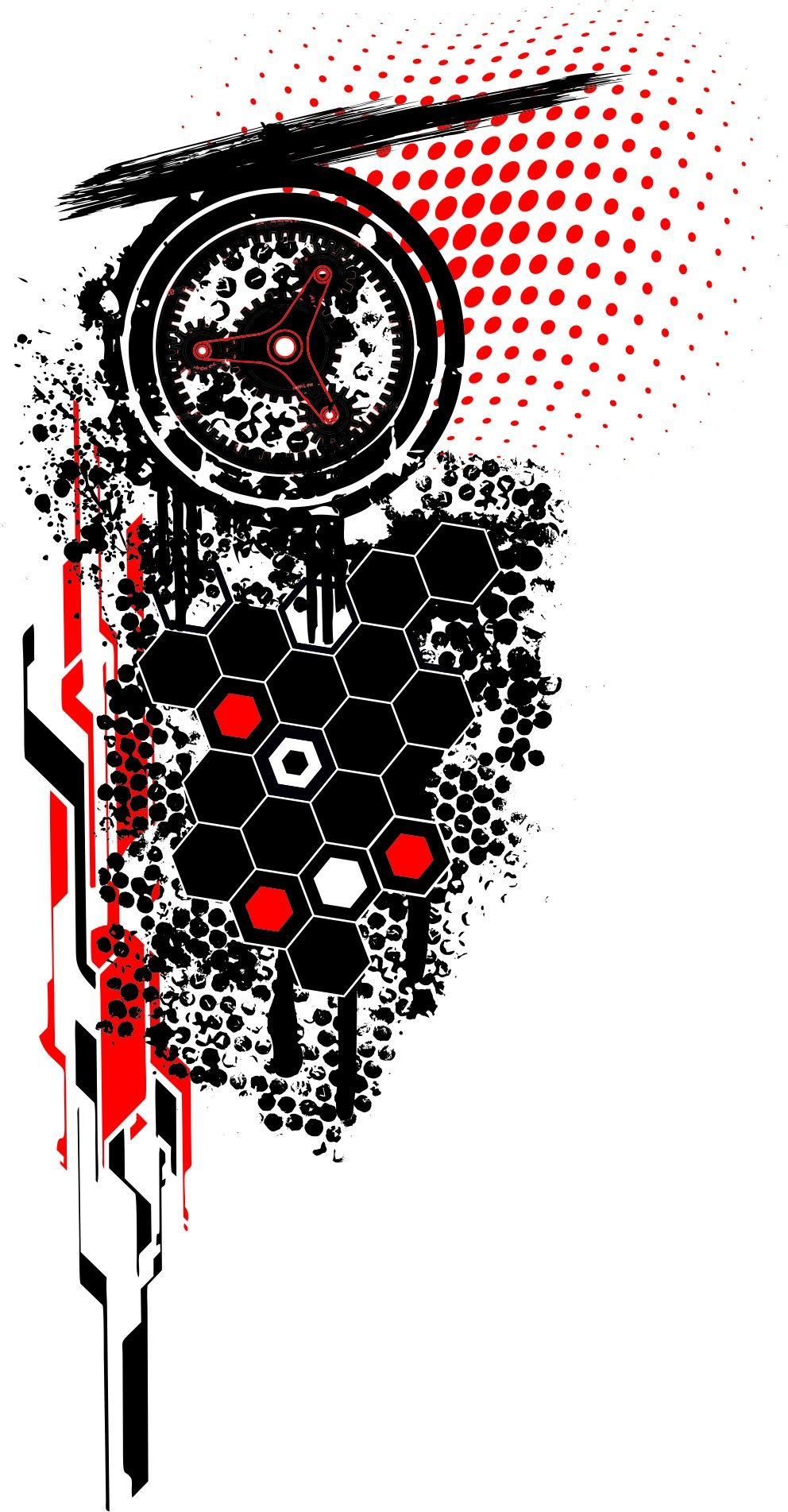Trash Hexagon Polka Tattoo Trash Trash Polka Tattoo Trash Polka Tattoo Designs
