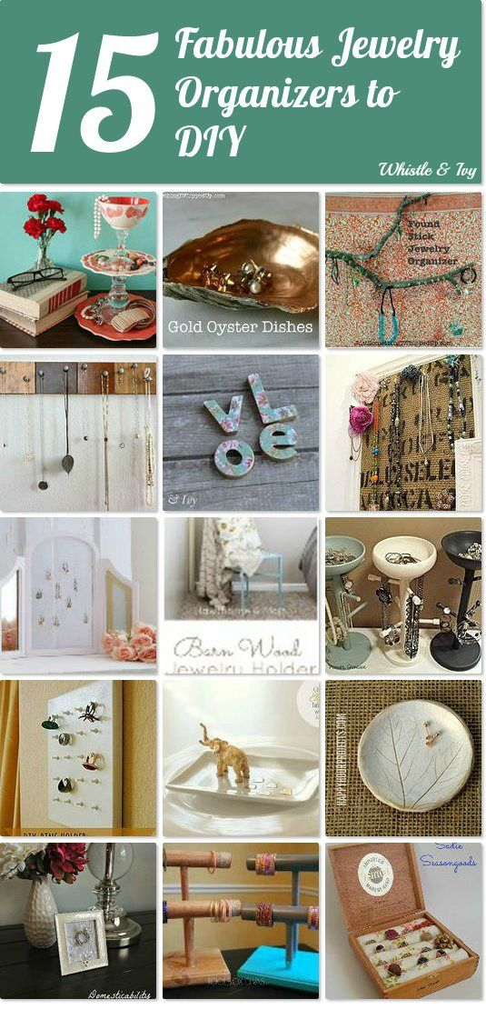 15 fabulous jewelry organizers to DIY 15