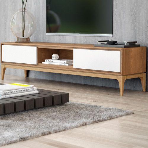 found it at allmodern joren tv stand apartment tv furniture rh pinterest com