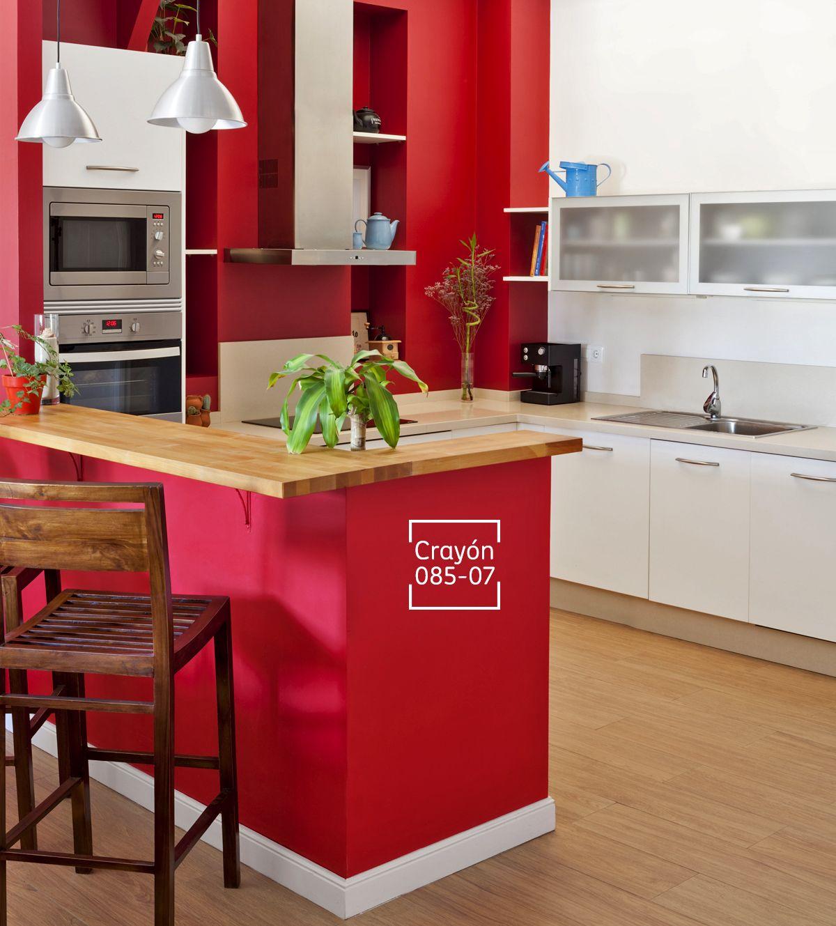 Haz que el rojo te invite a apasionarte por lo que m s for Interiores de cocinas