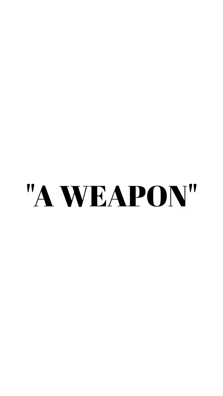 , A Weapon (3/16 Stream Take), by Candy For Trees, My Babies Blog 2020, My Babies Blog 2020