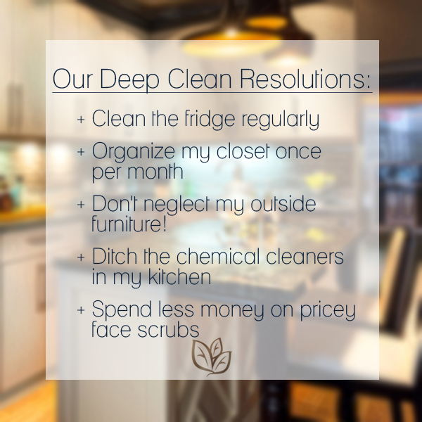 Let us give you some inspirational cleaning resolutions for 2015! Have any tricks you'd like to share? Let us know! #keepingclean #newyear
