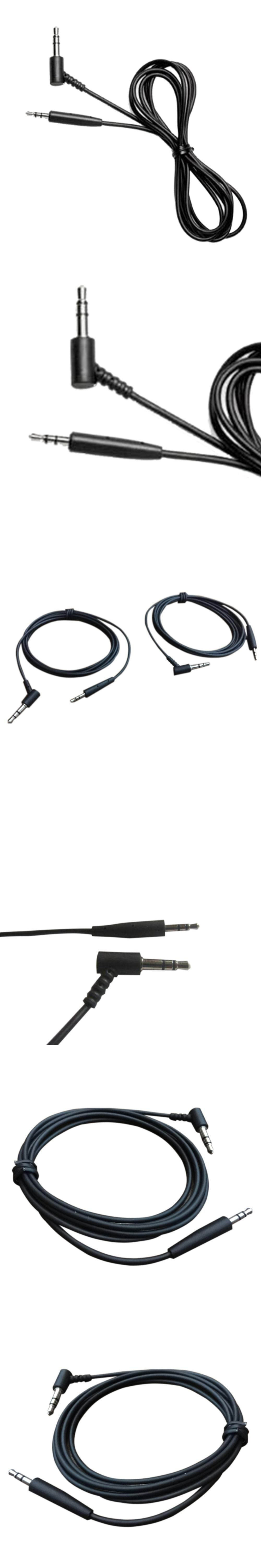 Audio Extension Cord Earphone Cable AUX 2.5mm To 3.5mm Replacement ...