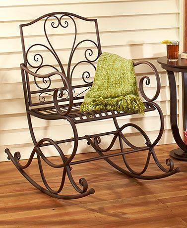 outdoor metal rocking benches in 2019 para comprar pinterest rh pinterest com