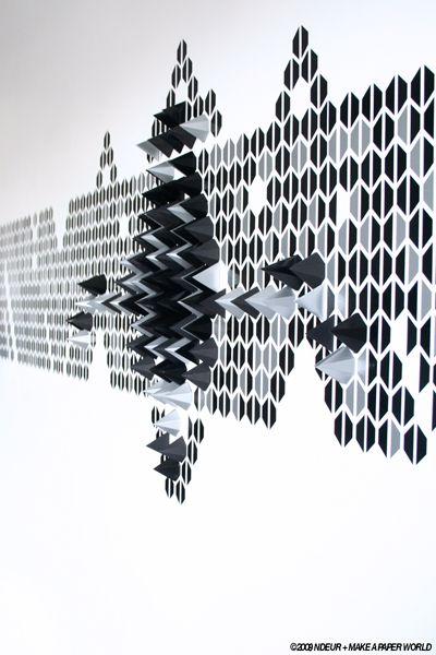 Ndeur + Make A Paper World - Le Creative Sweatshop.