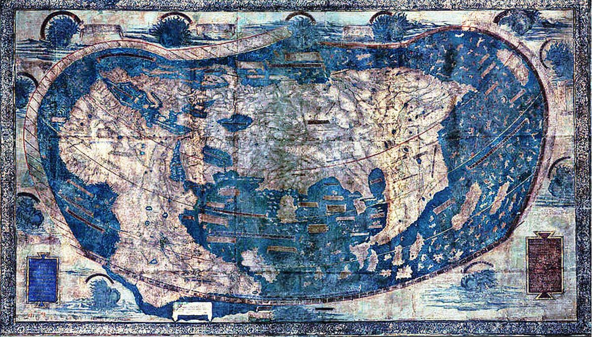 The Yale world map of