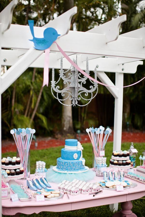 Disney Princess Cinderella Girl 1st Birthday Party Planning Ideas Cinderella Birthday Princess Theme Birthday Party Birthday Party Planning