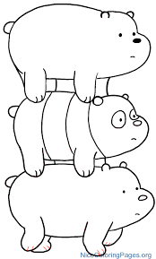 we bare bears coloring pages Image result for we bare bears coloring pages printable | joshua  we bare bears coloring pages
