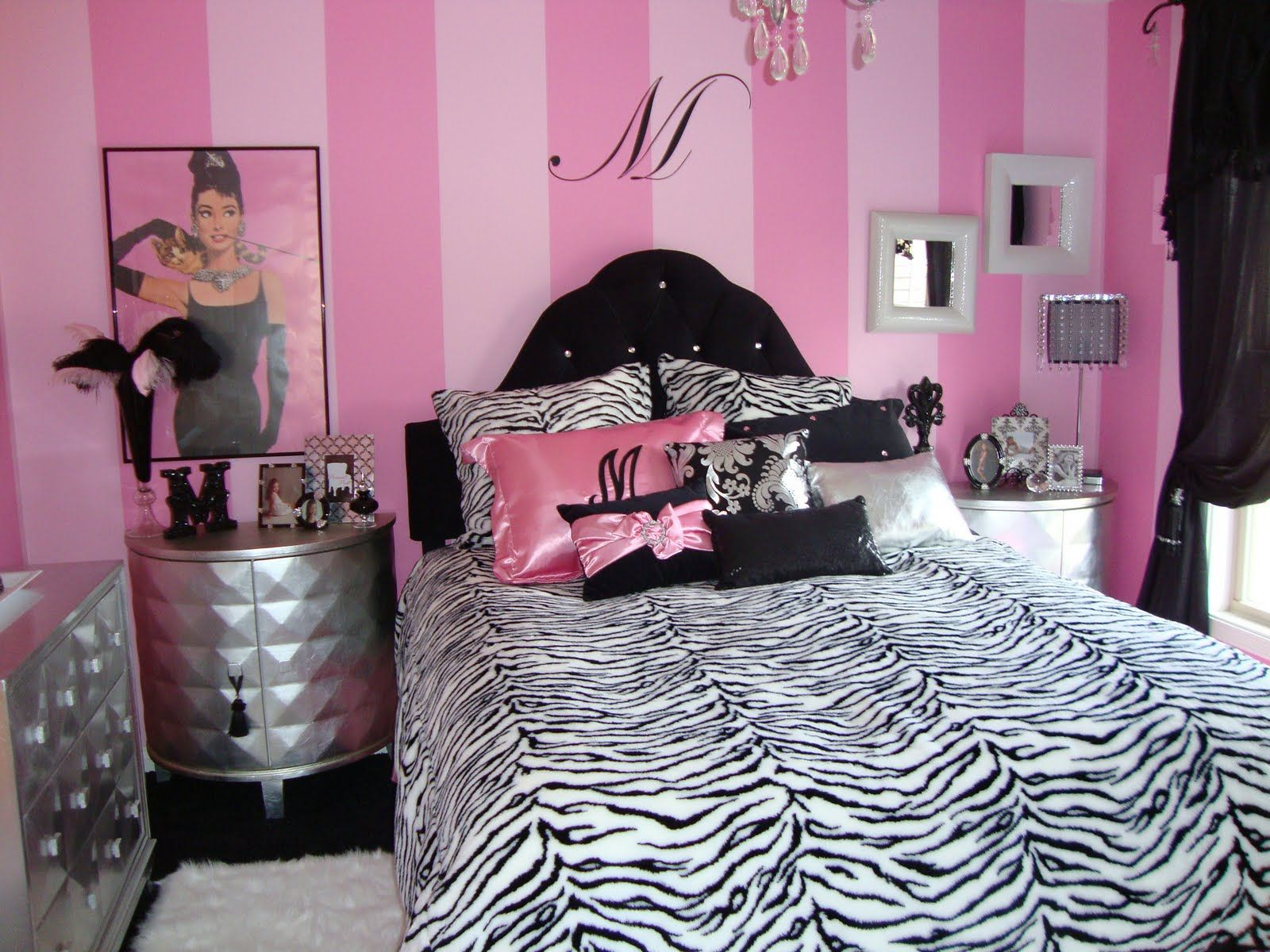 Room For Teen Girl Hollywood Glamour Bedroom Paris Themed Teen Bedroom Girl