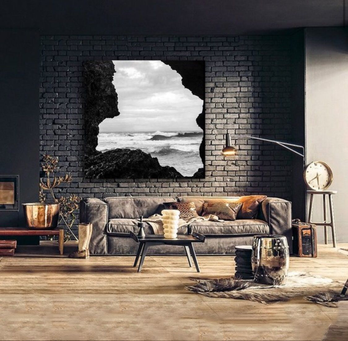 Endless waves canvas print. Integrate this work of art into your favorite décor. Gallery…  #lifestyle #luxurylife #luxurylifestyle #onlineshopping #shopping #shoppingonline #giftideas #giftforher #canvas #print #printsforsale #painting #paintings #pinterest