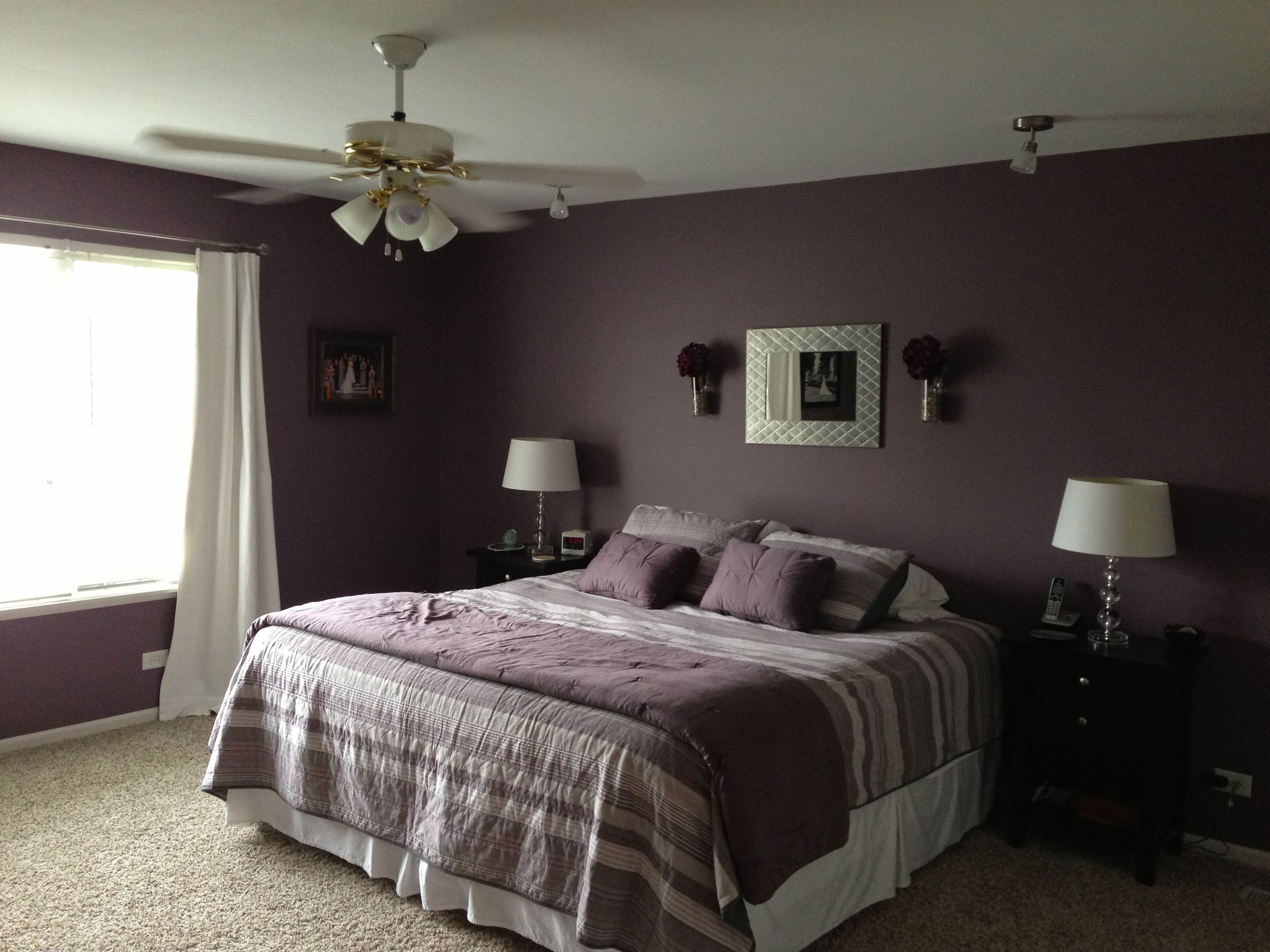 Bold color for the bedroom behr wine frost everything for Bedroom colors