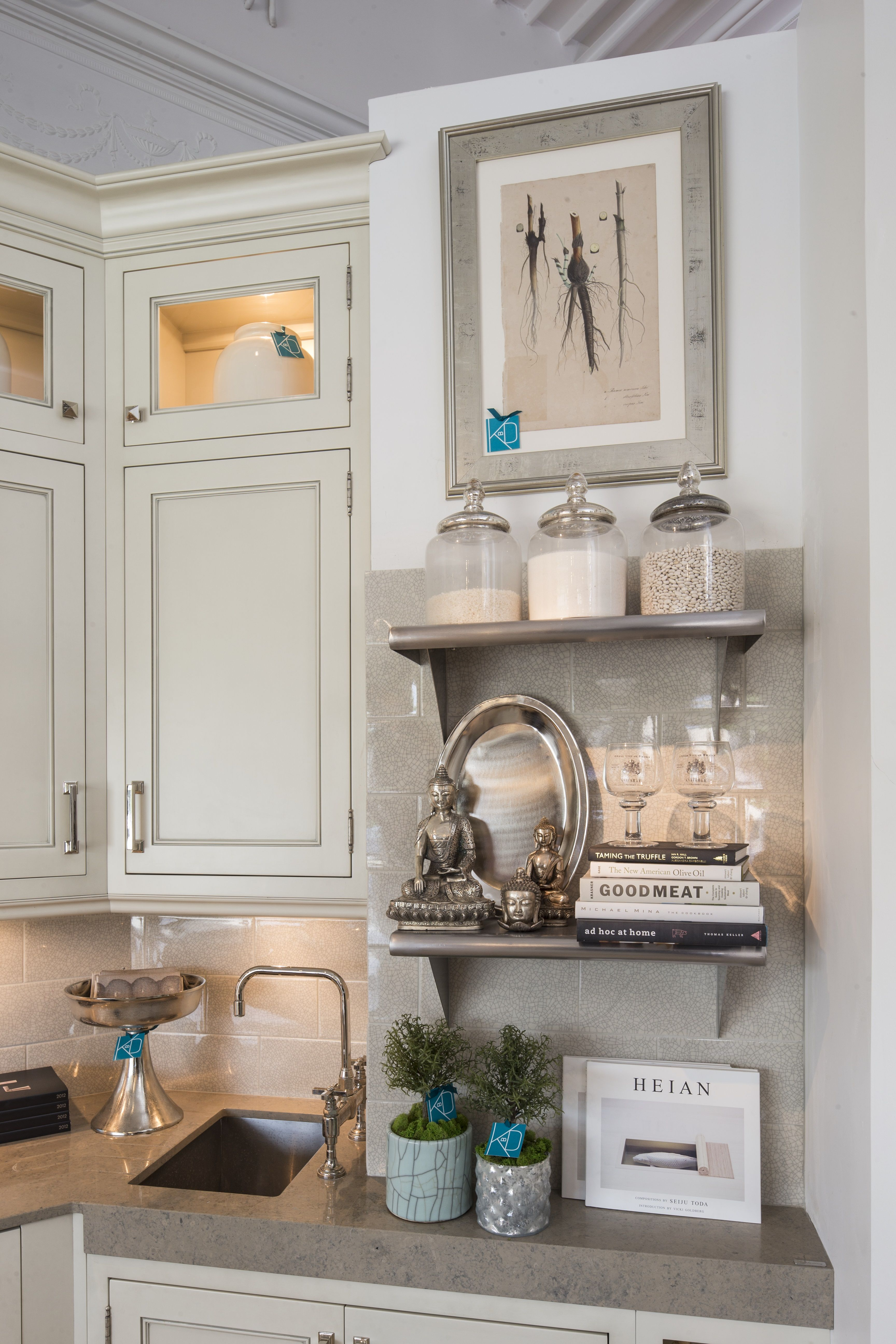 Elegant Kitchen Display - Accessories - Interior Design - Kitchens By Design Showroom