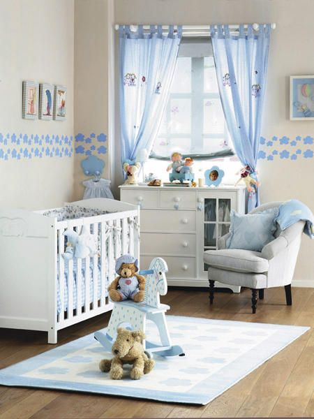 La habitaci n del beb babies nursery and room for Habitacion completa bebe boy