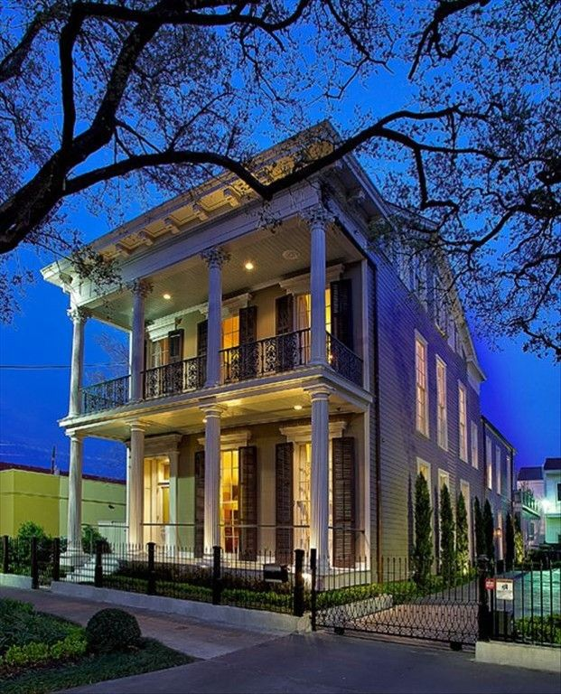 House Rental Listings: New Orleans House Rental: A 4 Br Luxury Home On St Charles