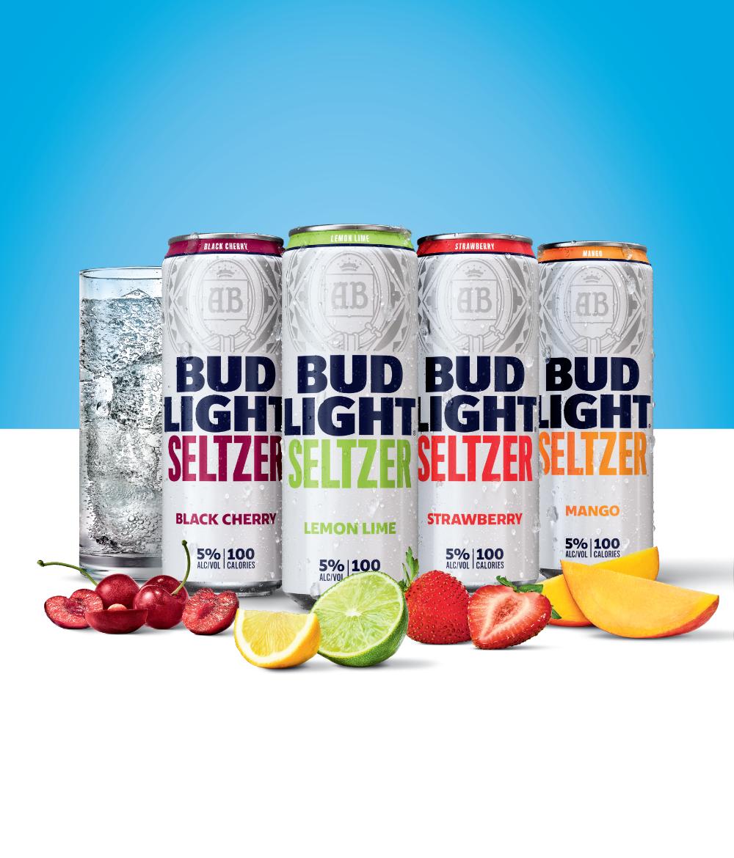 Bud Light Makes 100 Million Bet On Hard Seltzer Hard Seltzer Bud Light Seltzer