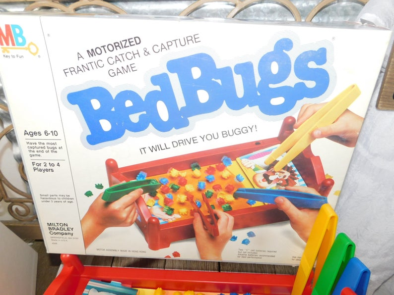 Pin by LeBonheurDuJour on Toys and Games Bed bugs, Crazy
