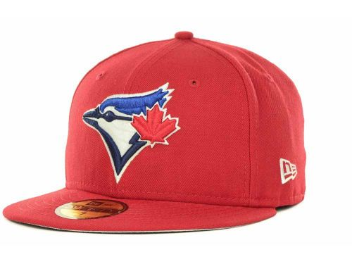 Toronto Blue Jays New Era MLB Canada Day Custom 59FIFTY Cap Hats ... 16d2c366ca2c
