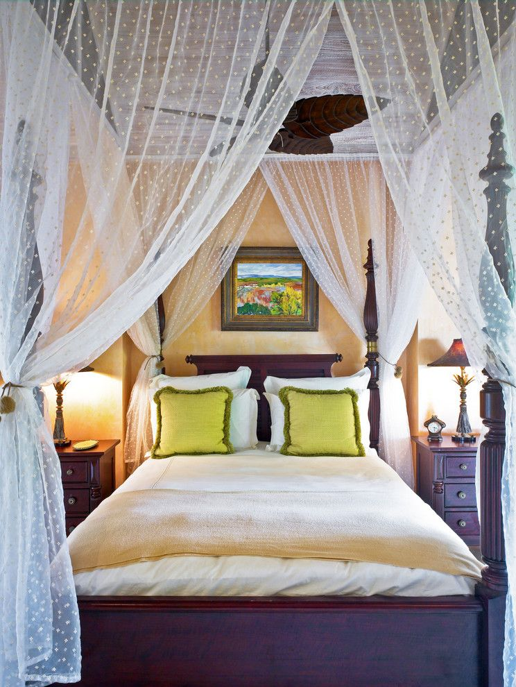 Canopy Bed Drapes Bedroom Mediterranean With Artwork Canopy Bed