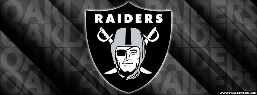 Oakland Raiders Team Facebook Cover