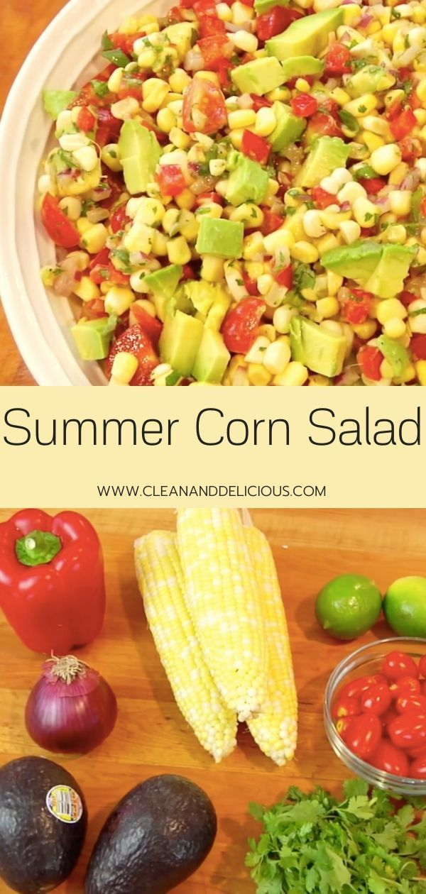 Summer Corn and Avocado Salad