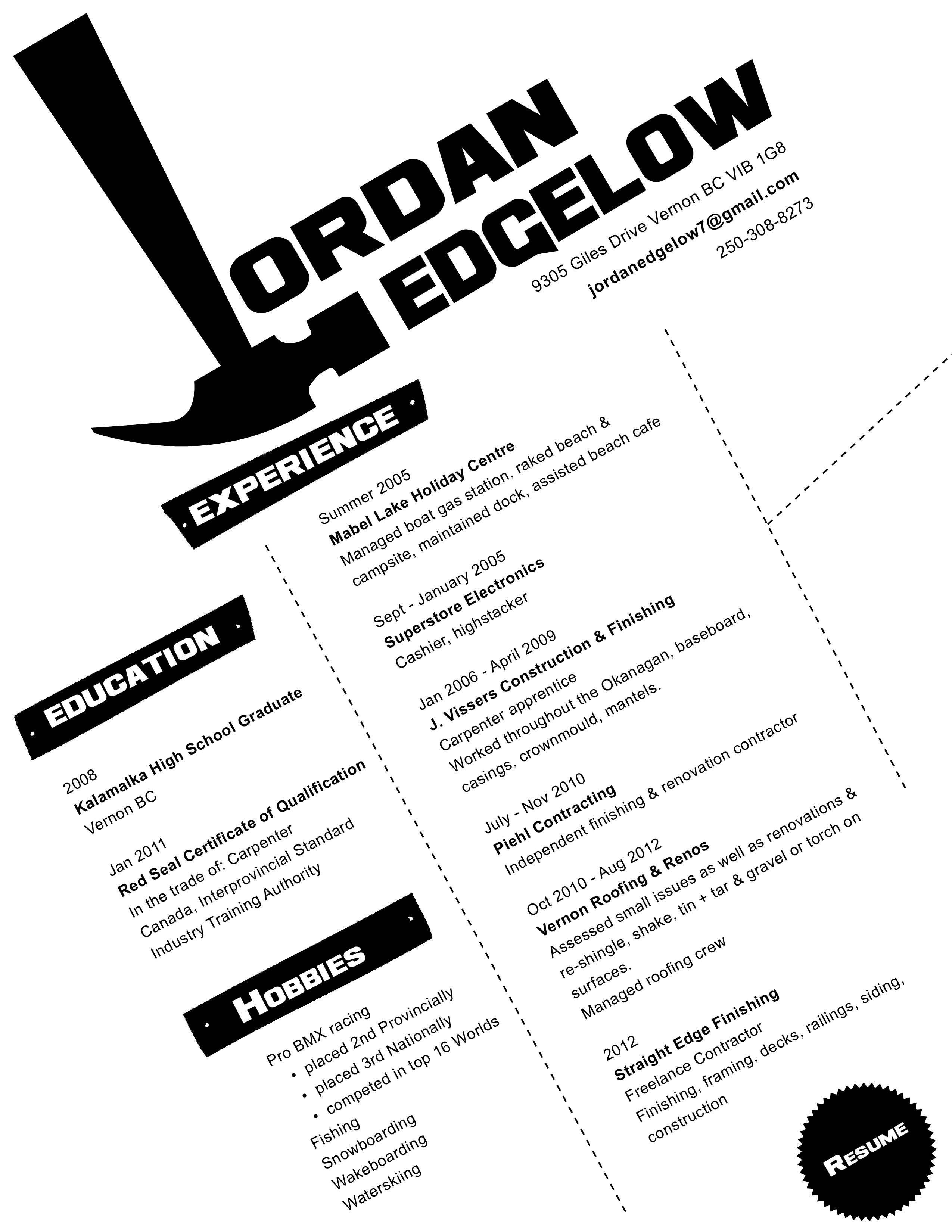 #Resume #Design