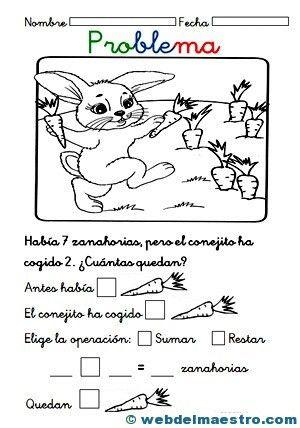 Infantil Archives Página 3 De 4 Web Del Maestro Actividades De Resta Matemáticas Para Niños Problemas De Logica Matematica