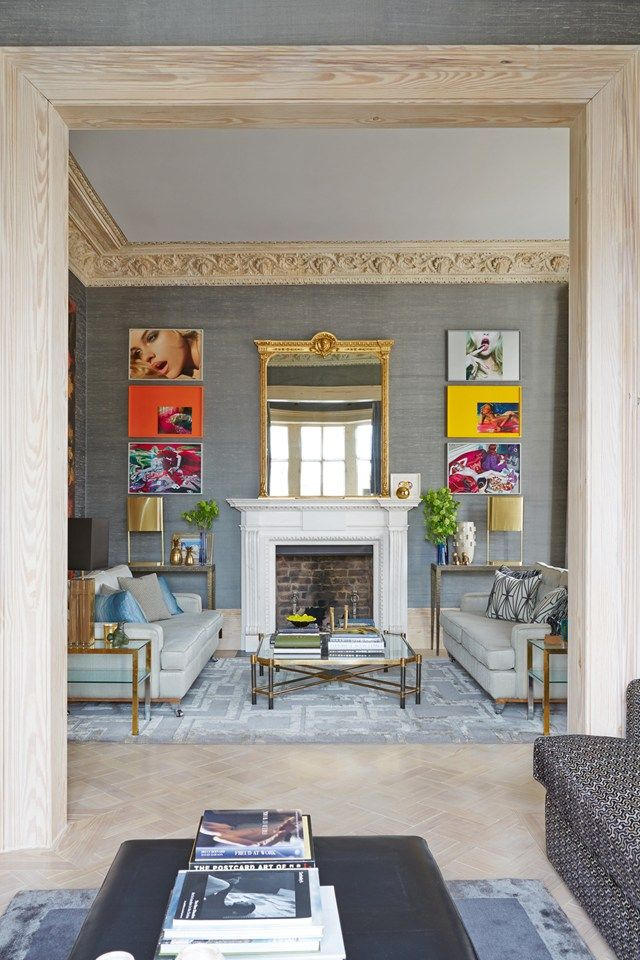 classic architecture meets sleek modernism in this historic london rh pinterest com
