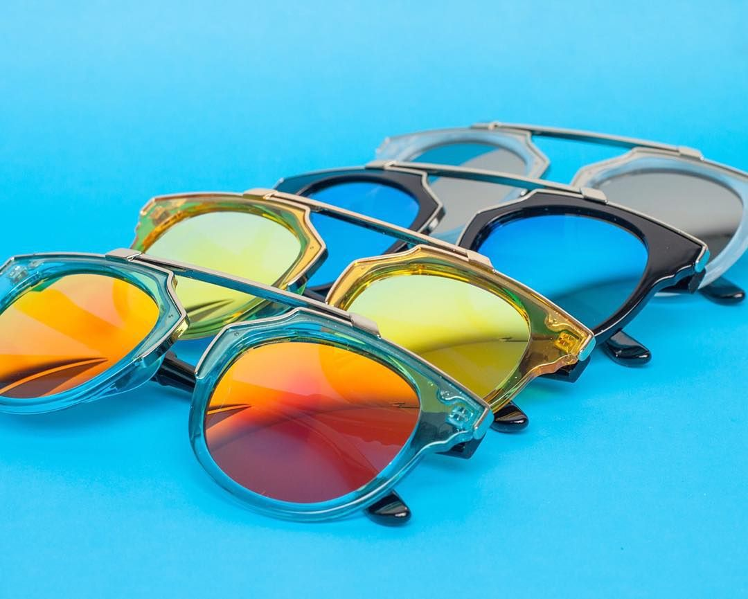 The full Overhang family in perfect harmony  #eighty6sunnies  http://pasar-pasar.com/collections/eighty-six-sunglasses