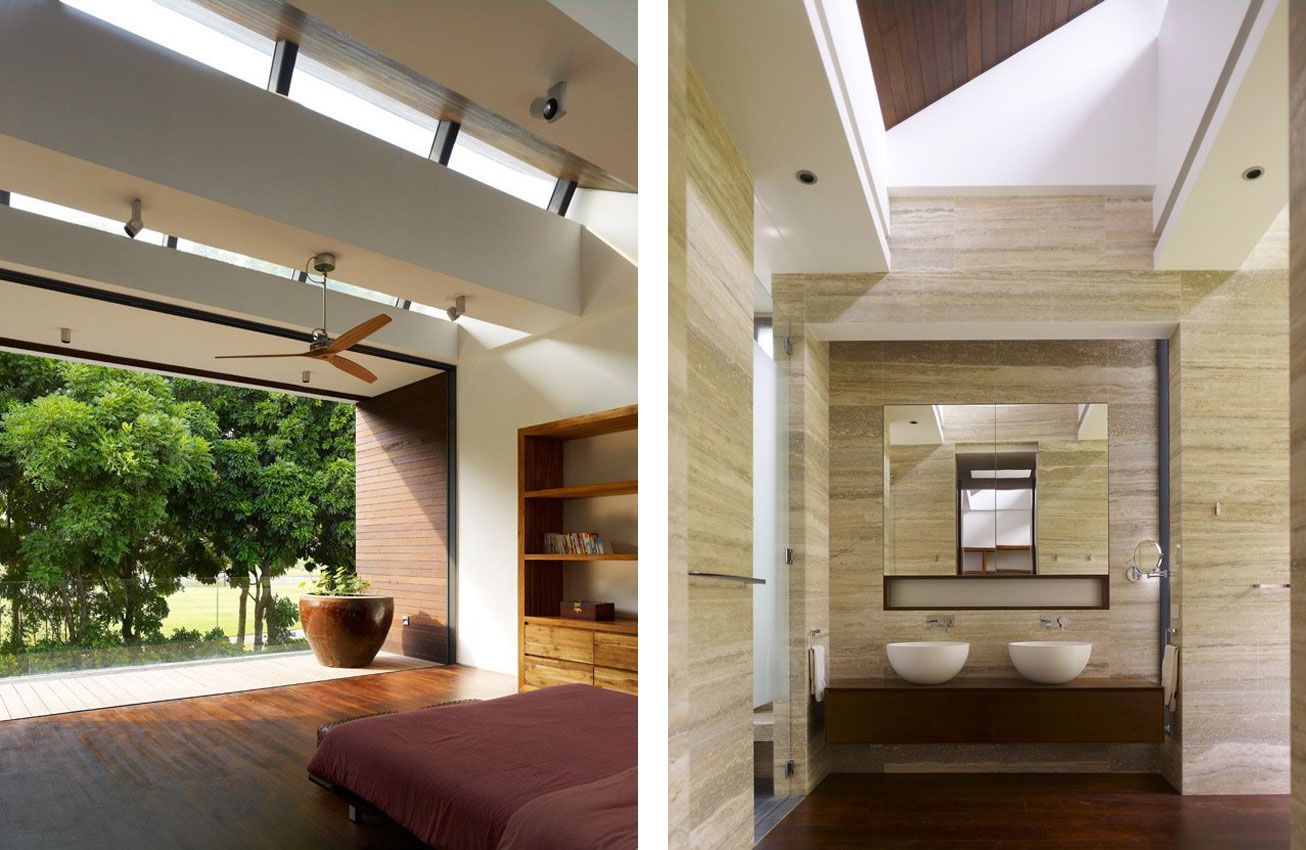 Front view luxury tropical house design 27 east sussex lane by ong - 72 Sentosa Cove House By Ong Ong Interior Songpark Cityminisarchitecture Housedesign Blogsingaporetropical