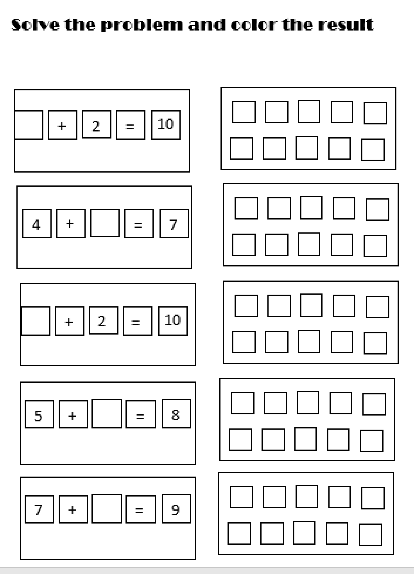Simple Addition Worksheet With Images