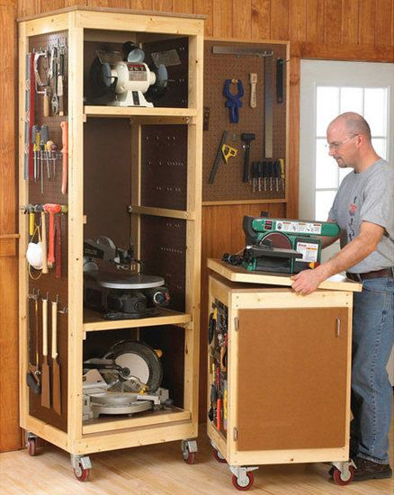 my bench power tool shelf rack and bench top bench shop table rh pinterest com