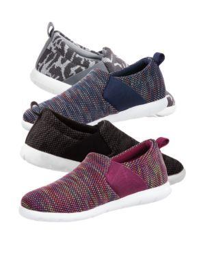 bca4c0faf Zenz from Isotoner Women s Sport Knit Lauren Slipper - Pink ...