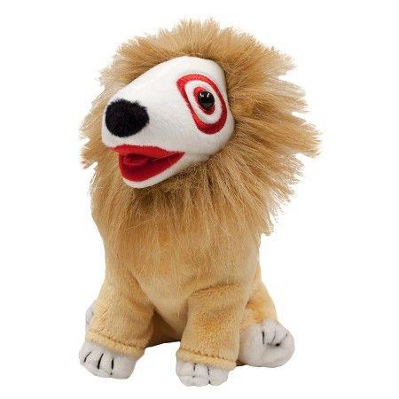 Lion Bullseye Set Of 5 Target Plush Dog