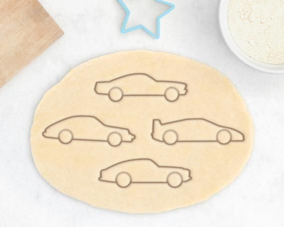 Sports Car Cookie Cutter Set – Muscle Car Cookies Classic Car Supercar Italian German Style Performa