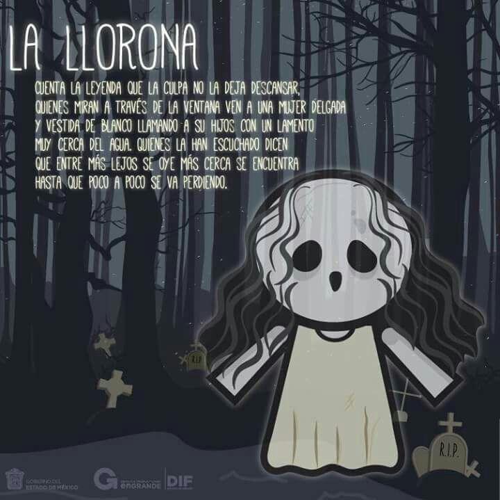 Leyendas Mexicanas La Llorona Para Niños Imagenes De Leyendas Leyenda De La Llorona