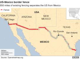 mexico warns us over border wall funding