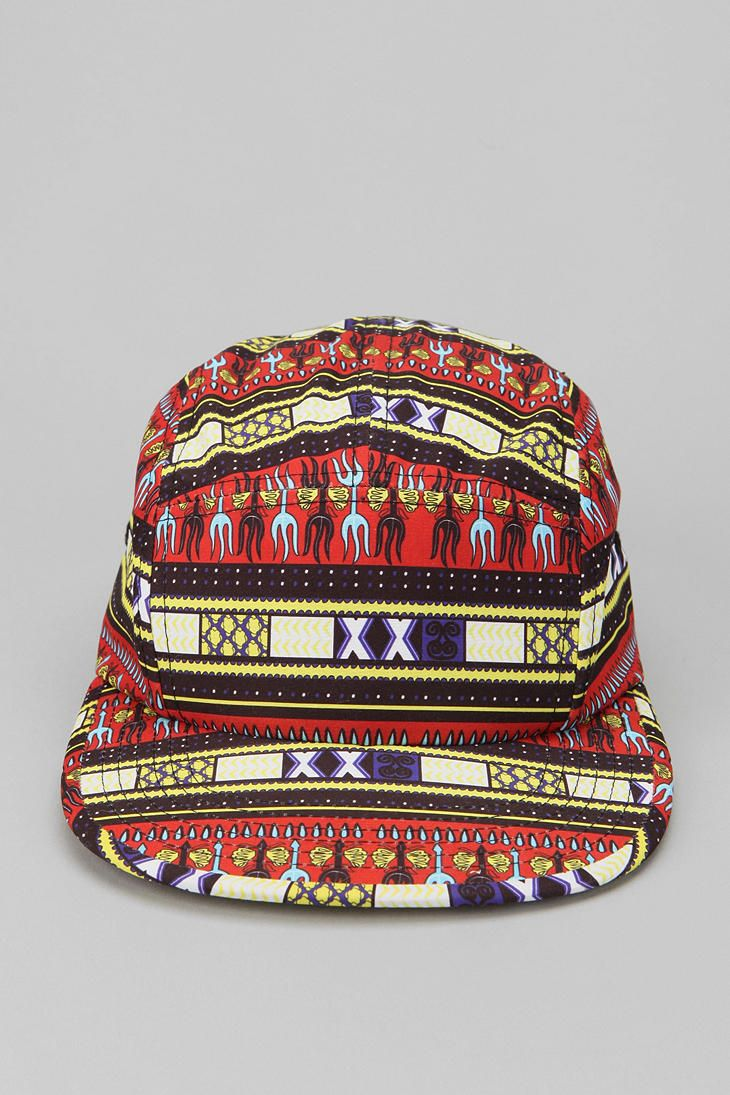 Uo Safari 5 Panel Hat 5 Panel Hat Urban Outfitters New Man Clothing