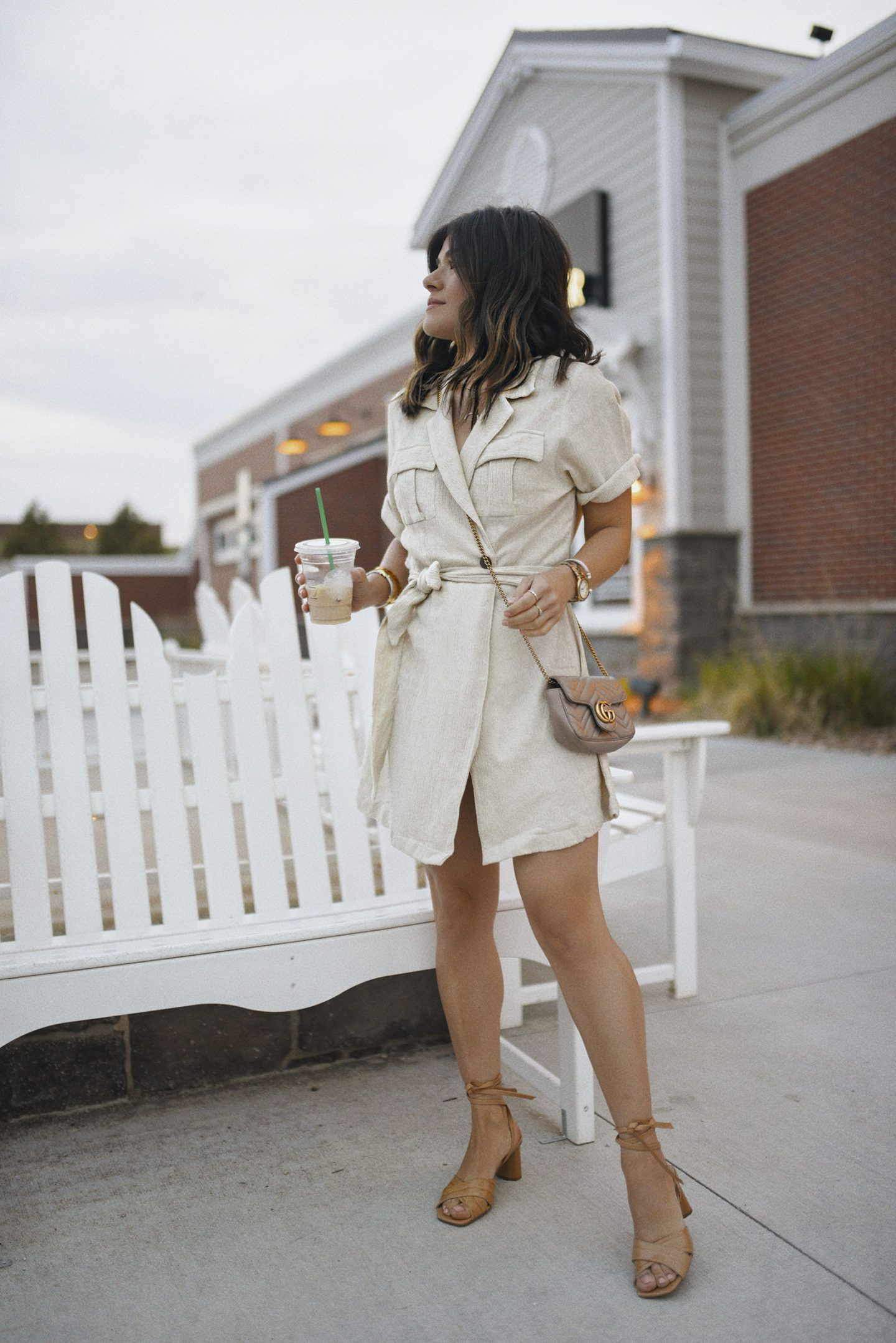 Neutral Dresses To Wear Non Stop This Summer Chic Talk Neutral Dresses Linen Summer Outfits Summer Dress Outfits [ 2157 x 1440 Pixel ]