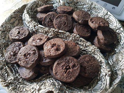 كوكيز بالشوكولاته مثل الذي يباع وصفة هاااااائلة و معتمدة لدي منذ سنين Cookies Chocolat Youtube Chocolate Food Desserts
