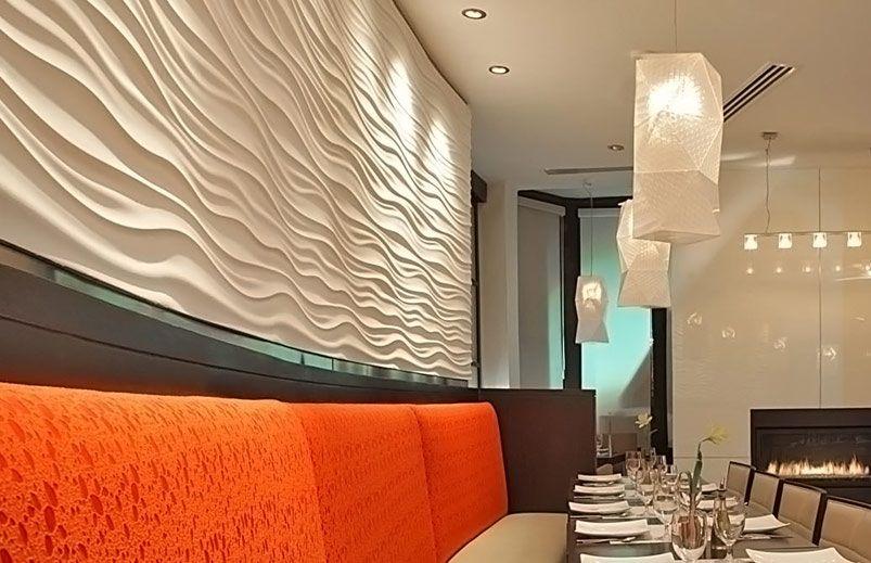 The Dune Gypsum Soya Panel Three D Sculptured Vertical