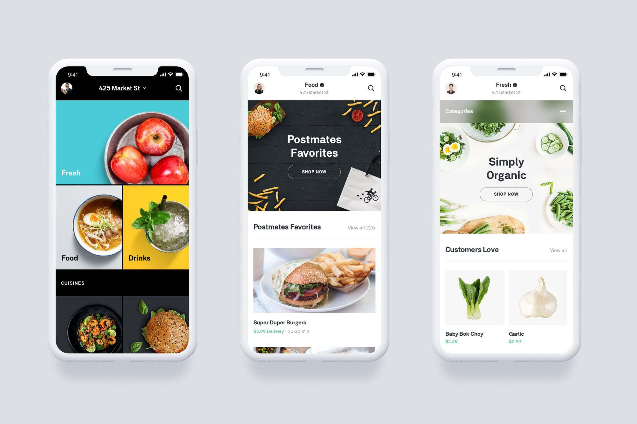 Postmates launches on-demand grocery delivery to take on