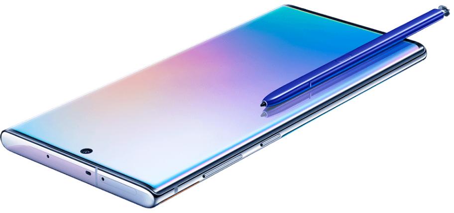 سامسونج جالكسي نوت 10 بلس 256 جيجا 12 جيجا رام الجيل الخامس اسود Samsung Galaxy Samsung Galaxy Note Samsung