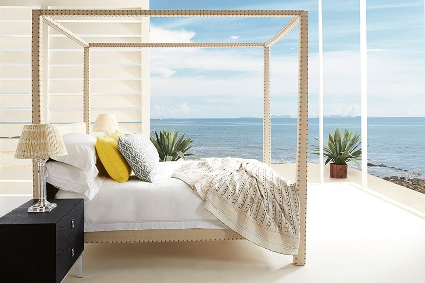 Zamindar Four Poster Bed King With Mattress
