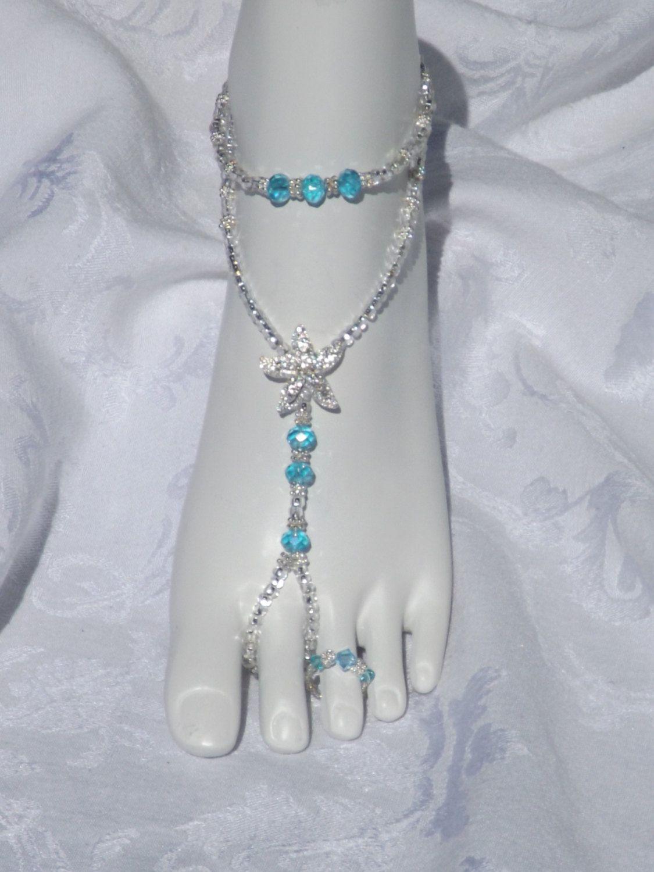 Wedding Sandal Jewelry Bottomless