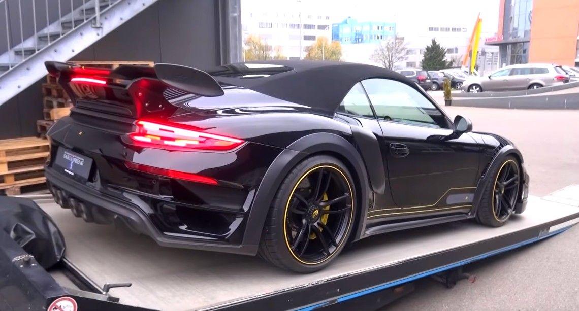 720hp porsche techart gt street r convertible in switzerland cars rh pinterest com