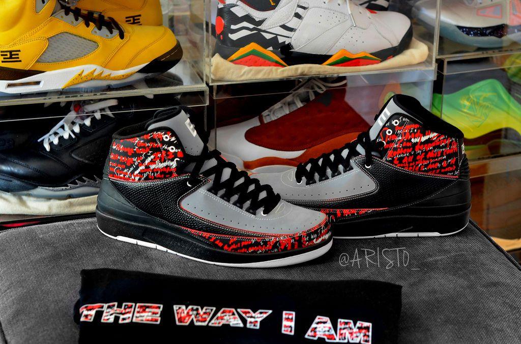 69bb1d2b9c2c92 Air Jordan II 2 Retro Eminem by Drastic